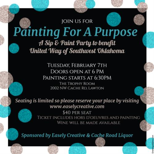 Painting For A Purpose @ The Trophy Room | Lawton | Oklahoma | United States