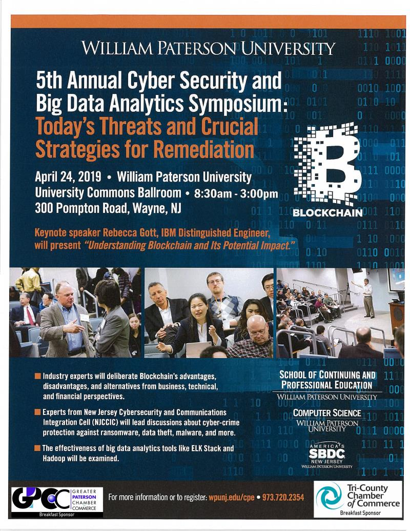 5th Annual Cyber Security and Big Data Analytics Sympoium