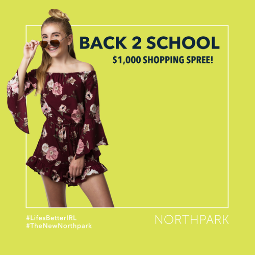 Back 2 School $1,000 Shopping Spree Giveaway