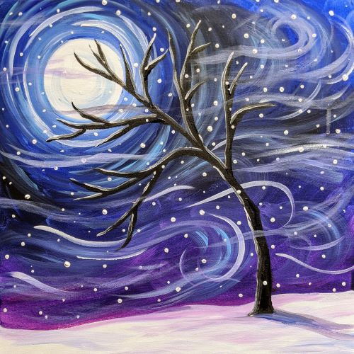 Daytime Paint Afternoon: Winter Scene