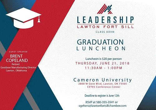 Leadership Lawton Fort Sill Graduation Luncheon