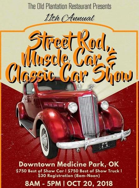 11th Annual Street Rod, Muscle & Classic Car Show
