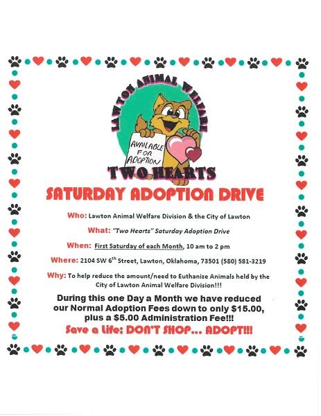 Two Hearts Adoption Drive