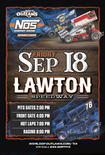 Sprint Car Races @ Lawton Speedway