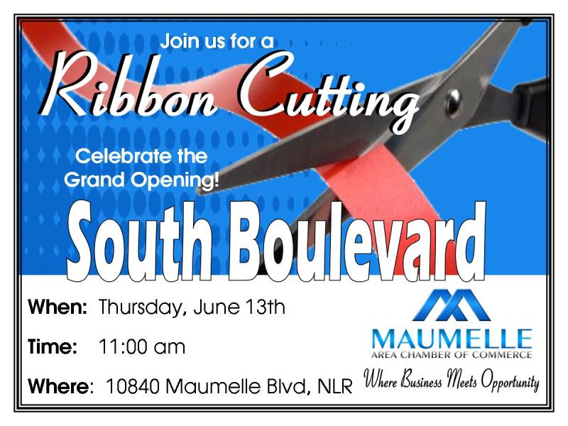 Ribbon Cutting for South Boulevard