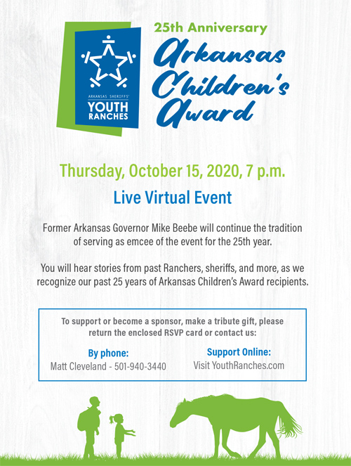 25th Anniversary Arkansas Children's Award