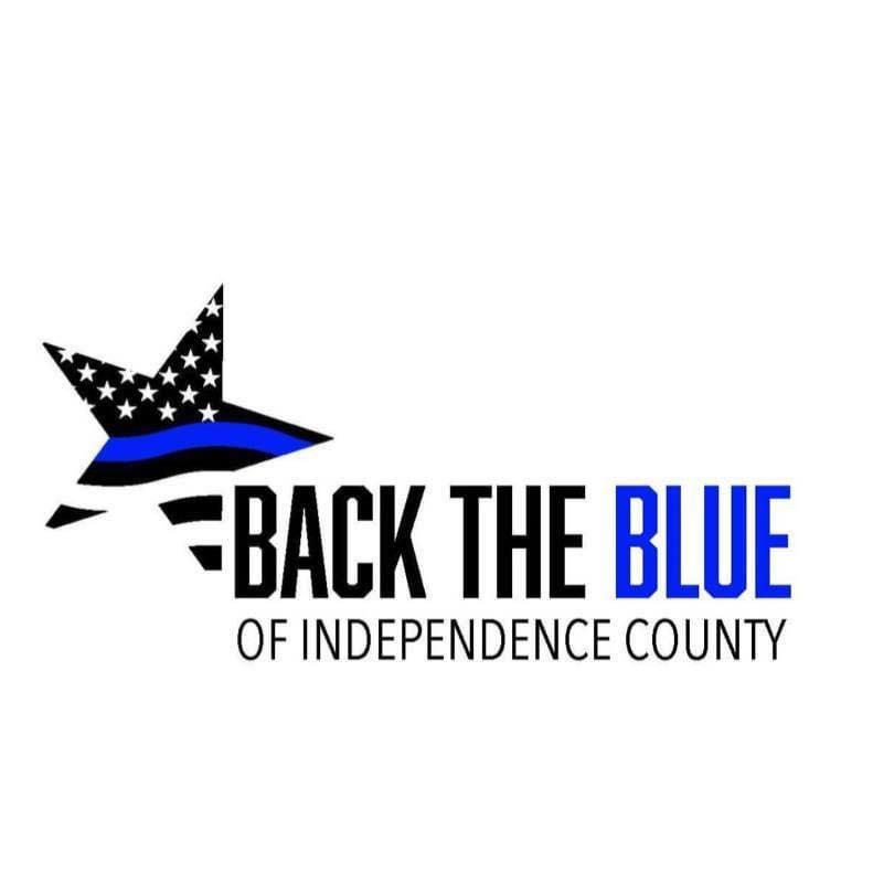 Back the Blue of Independence County