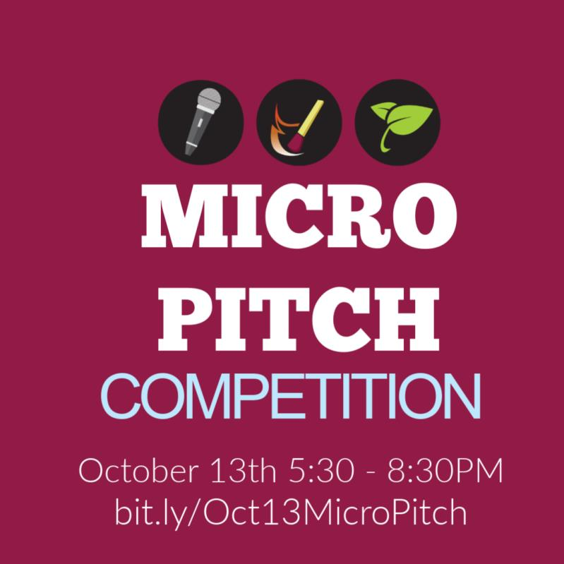 Micro Pitch Competition